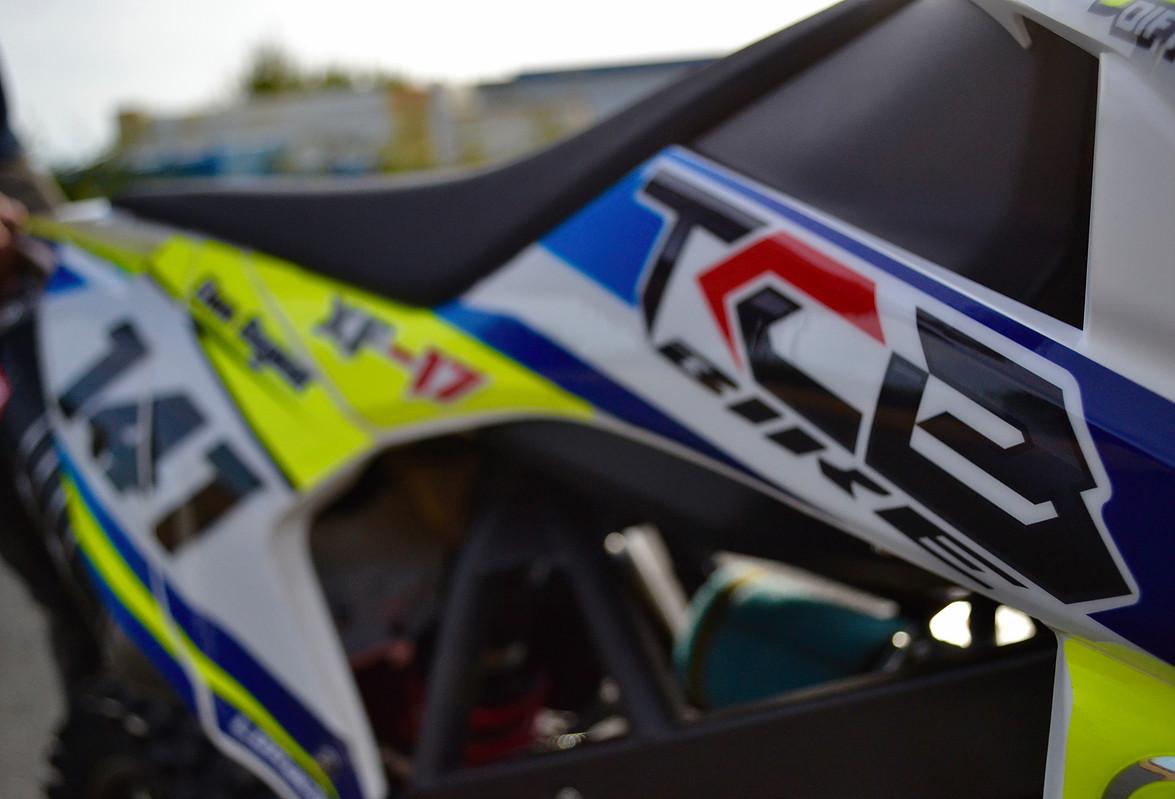 cadre pit bike xf17 tcb bike
