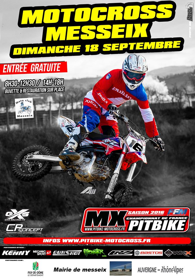 pit bike messeix 2016