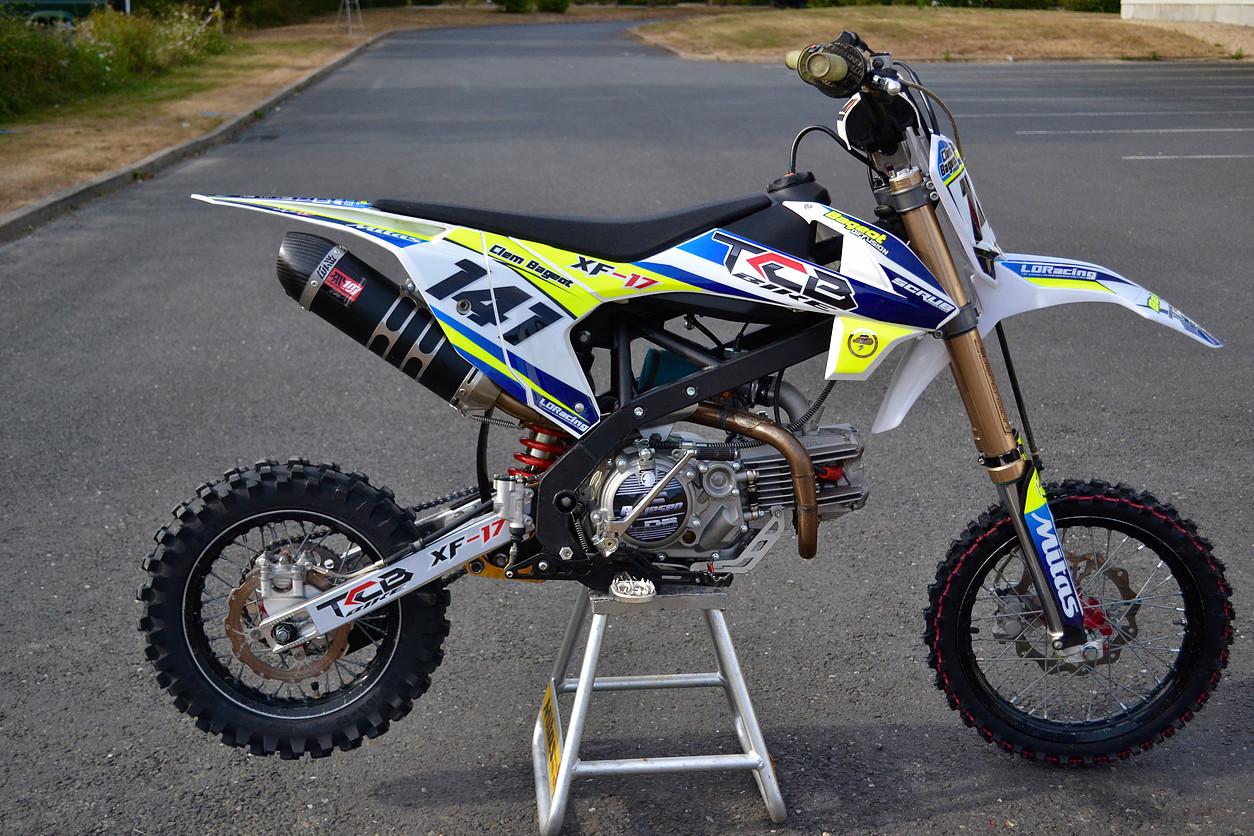 pit bike xf17 tcb bike