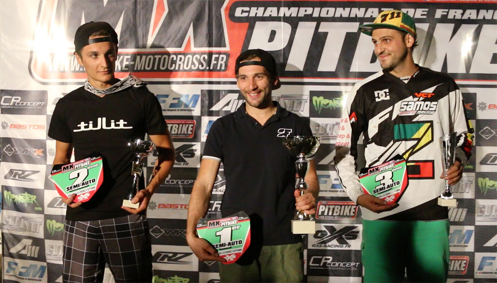 podium semi auto bercheres pit bike