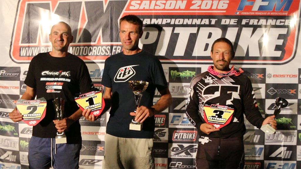 podium veterans bercheres pit bike