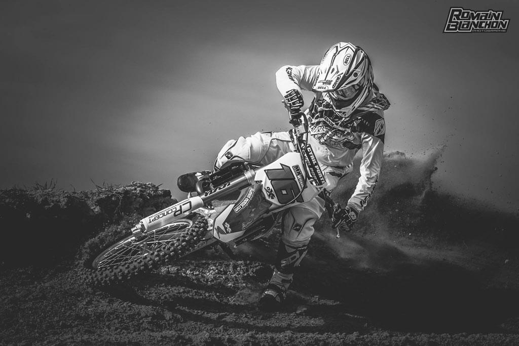 Cyril porte motocross