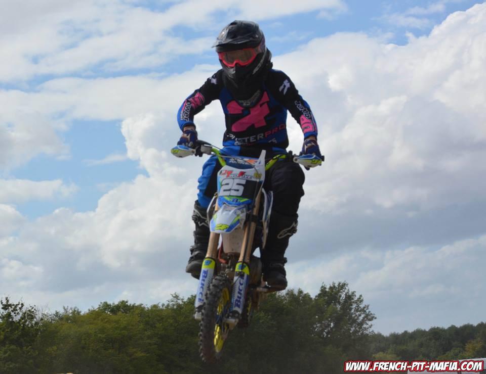 arnaud rouche CGO pit bike