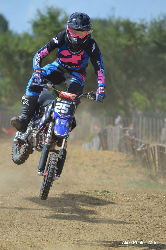 arnaud rouche dirt bike