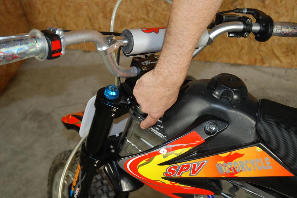 cadre pit bike