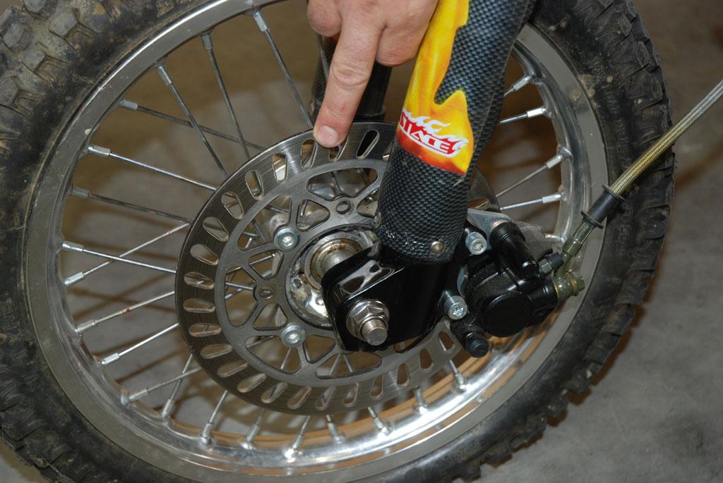 disque frein pit bike