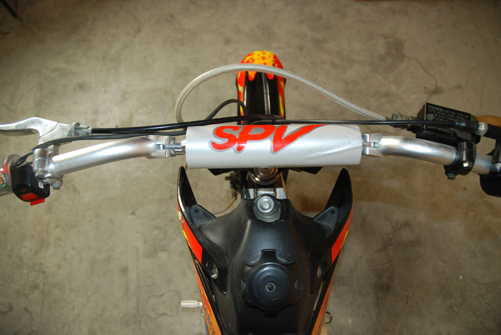 guidon mini moto