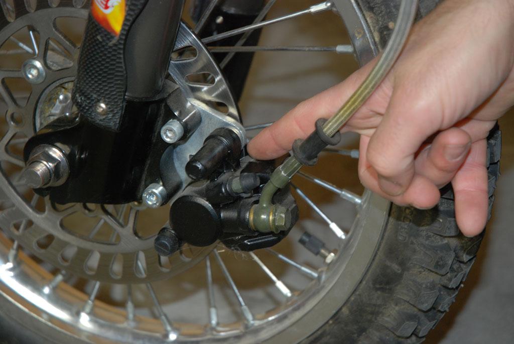 plaquette frein pit bike