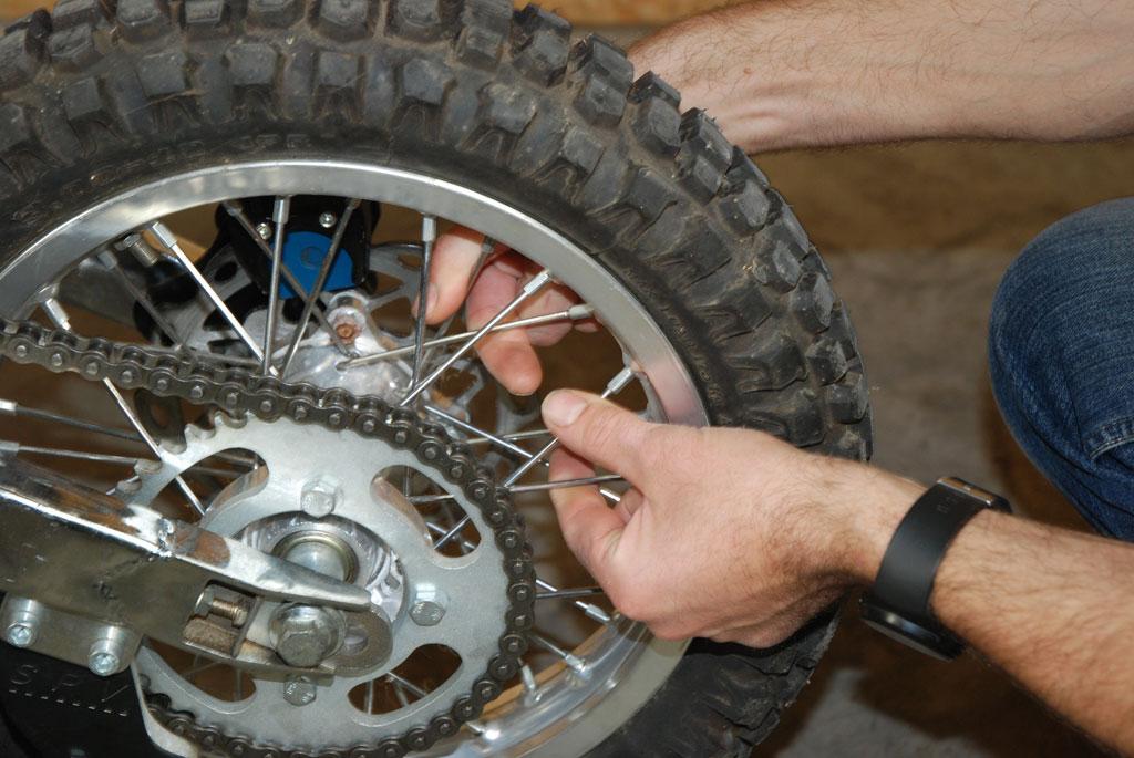rayon roue pit bike
