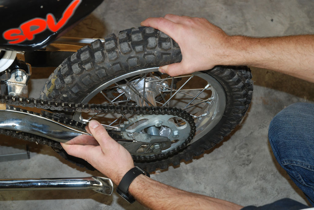 roue pit bike