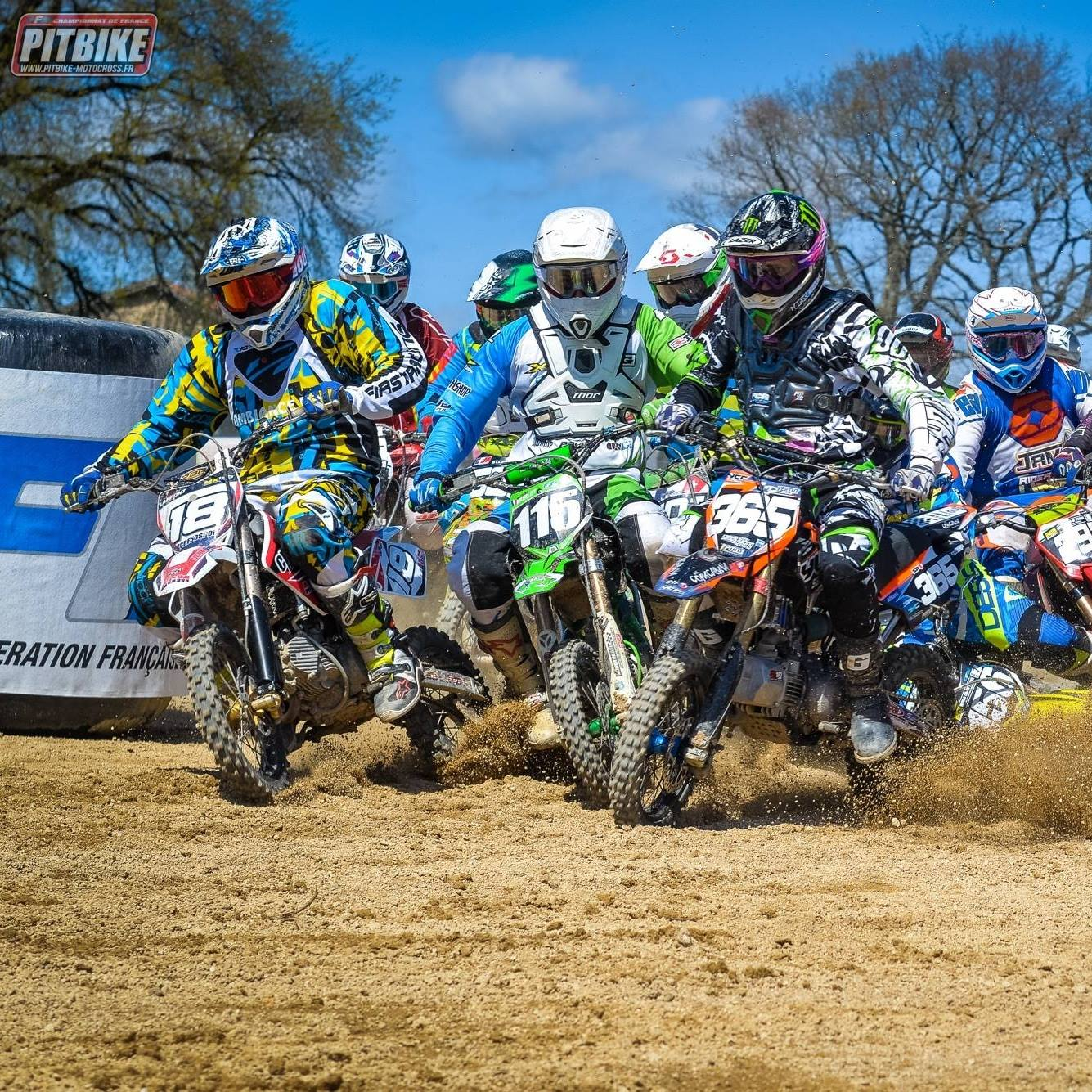 Championnat france 2017 pit bike