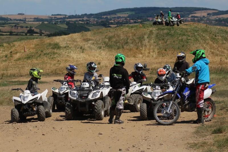 ecole pilotage quad pitbike