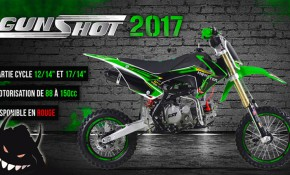 gamme dirt bike gunshot 2017
