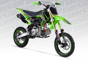Pit Bike GUNSHOT 150 PRO F Monster energy