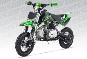 Pit Bike GUNSHOT 88cc Monster energy
