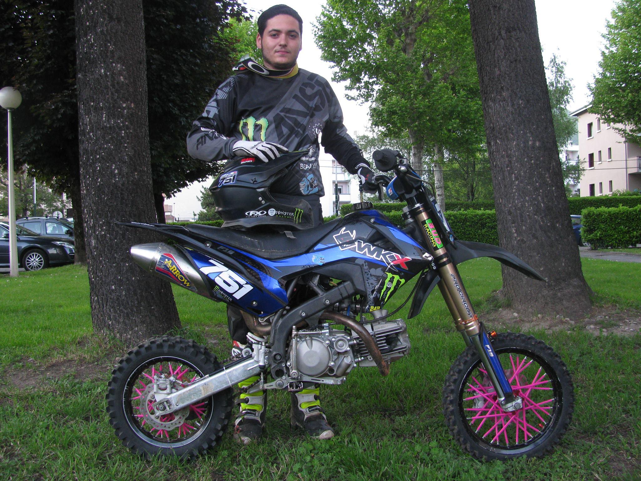Pit bike Bucci F15 WKX