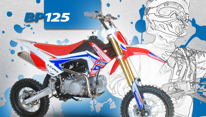 Pit Bike BP 125 BASTOS BIKE