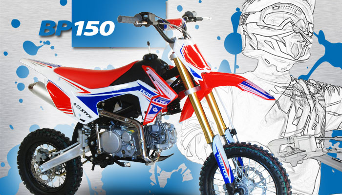 Pit Bike BP 150 BASTOS BIKE