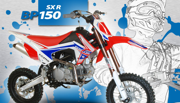 Pit Bike BP 150 SX RACING BASTOS BIKE