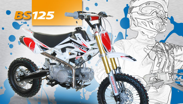 Pit Bike BS 125 BASTOS BIKE