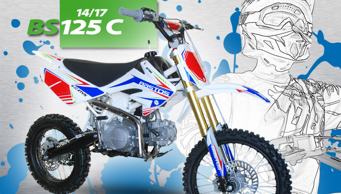 Pit Bike BS 125C BASTOS BIKE grande roue