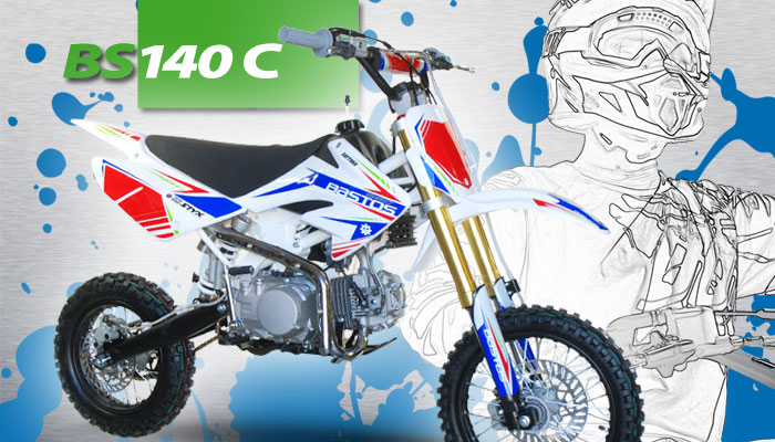 Pit Bike BS 140C BASTOS BIKE