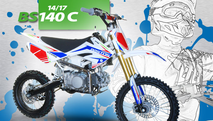 Pit Bike BS 140C BASTOS BIKE grande roue