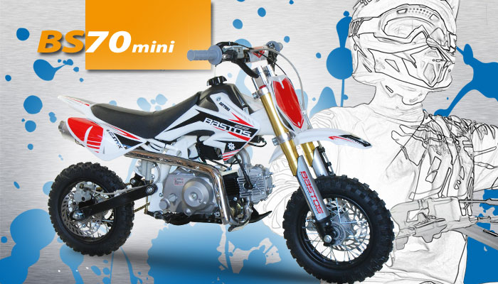 Moto enfant BS 70 Mini BASTOS BIKE