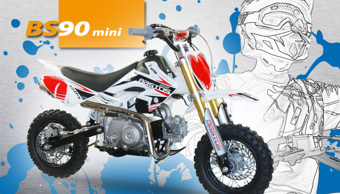 Moto enfant BS 90 Mini BASTOS BIKE