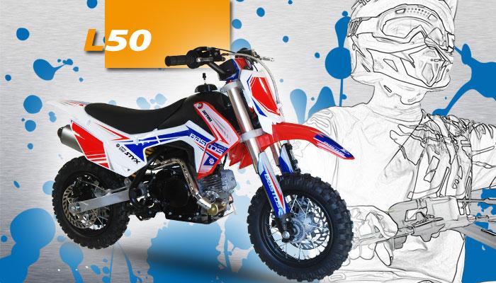 BASTOS BIKE L50 moto enfant