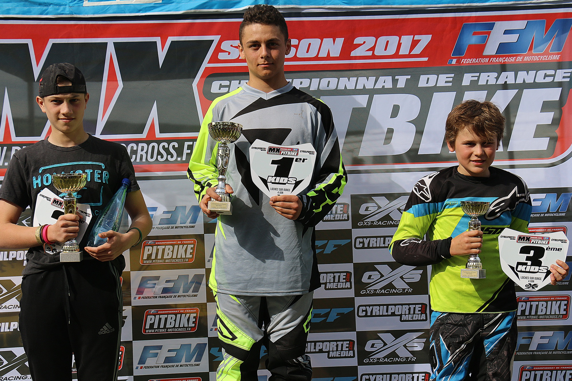 podium kids pit bike