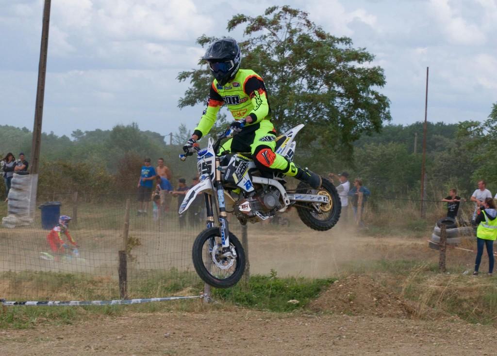 alexis jammes briollay pit bike