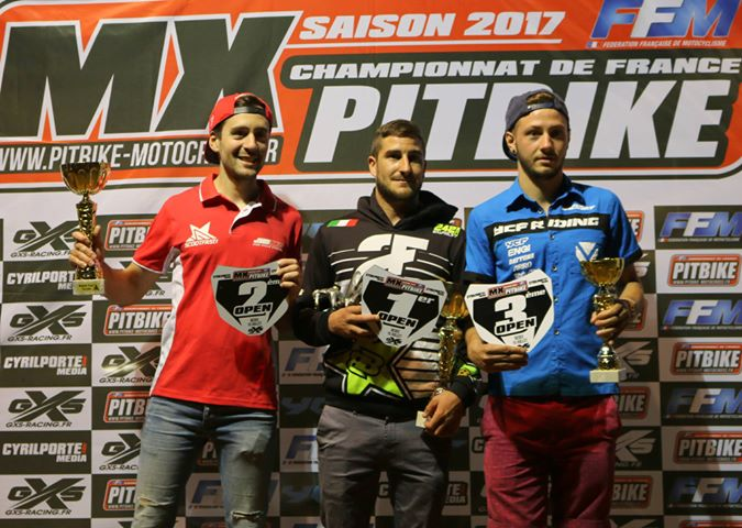 championnat france pit bike bedee open