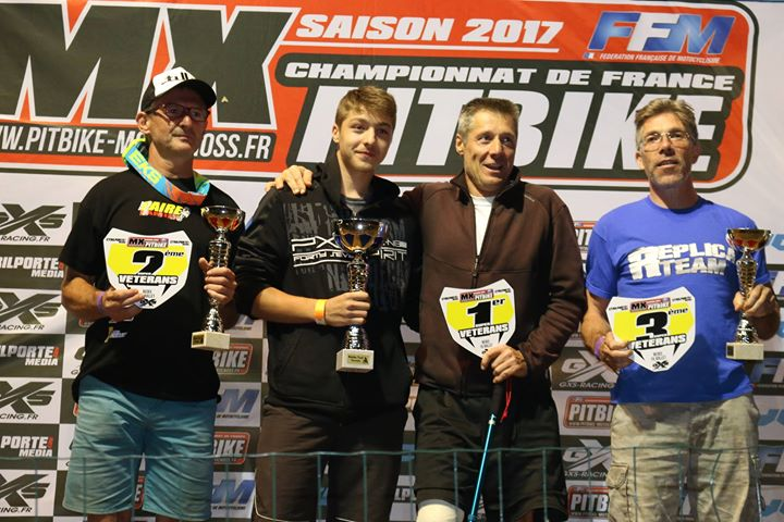 championnat france pit bike bedee super veteran