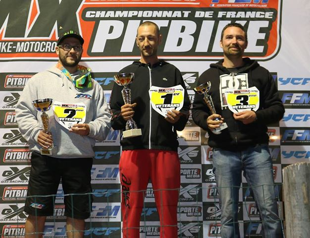 championnat france pit bike bedee veteran