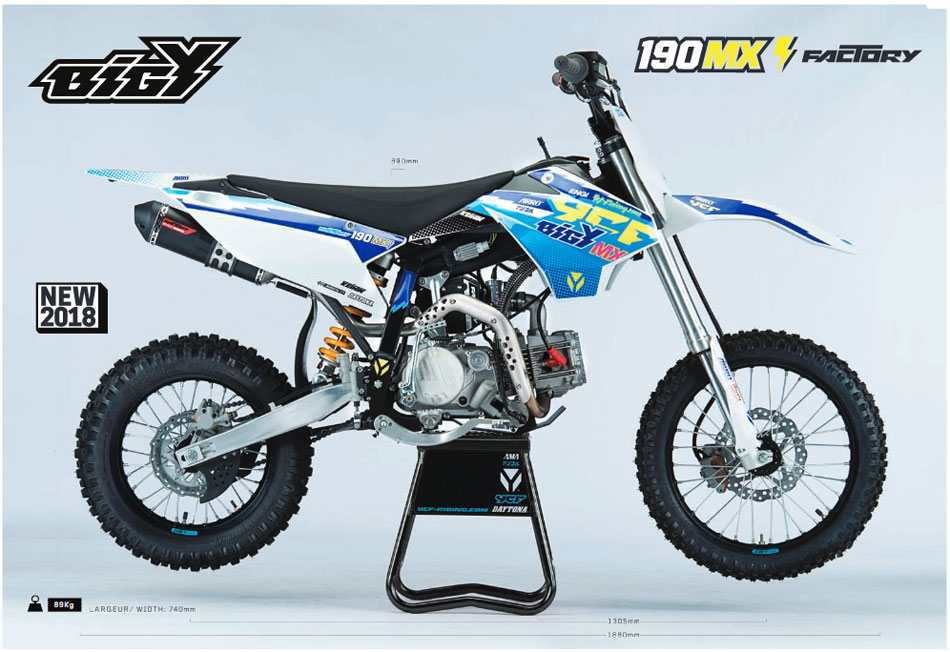 YCF bigy 190 mx ZE factory