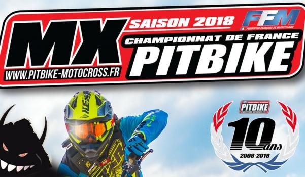 championnat france pit bike 2018