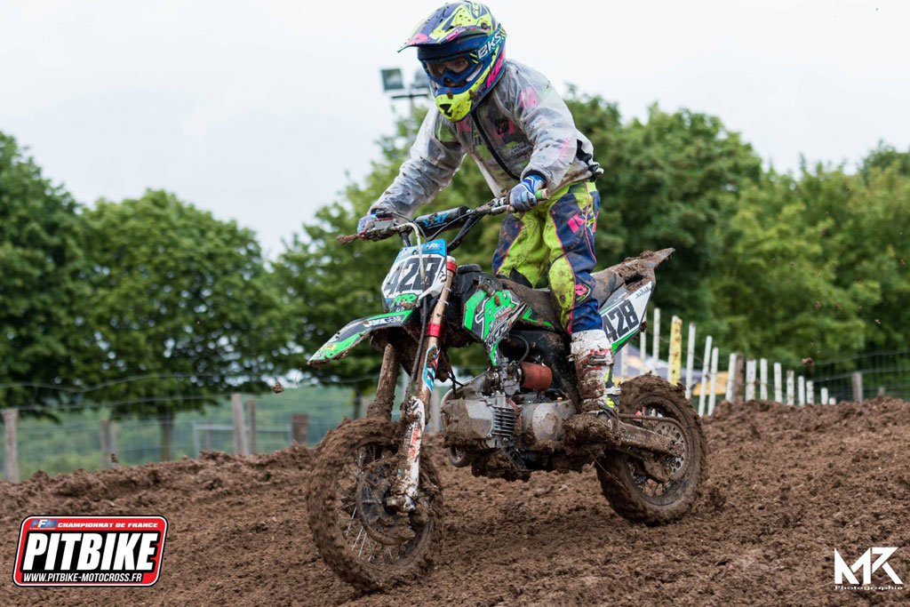 kids championnat france pit bike 2018 saint jean angely