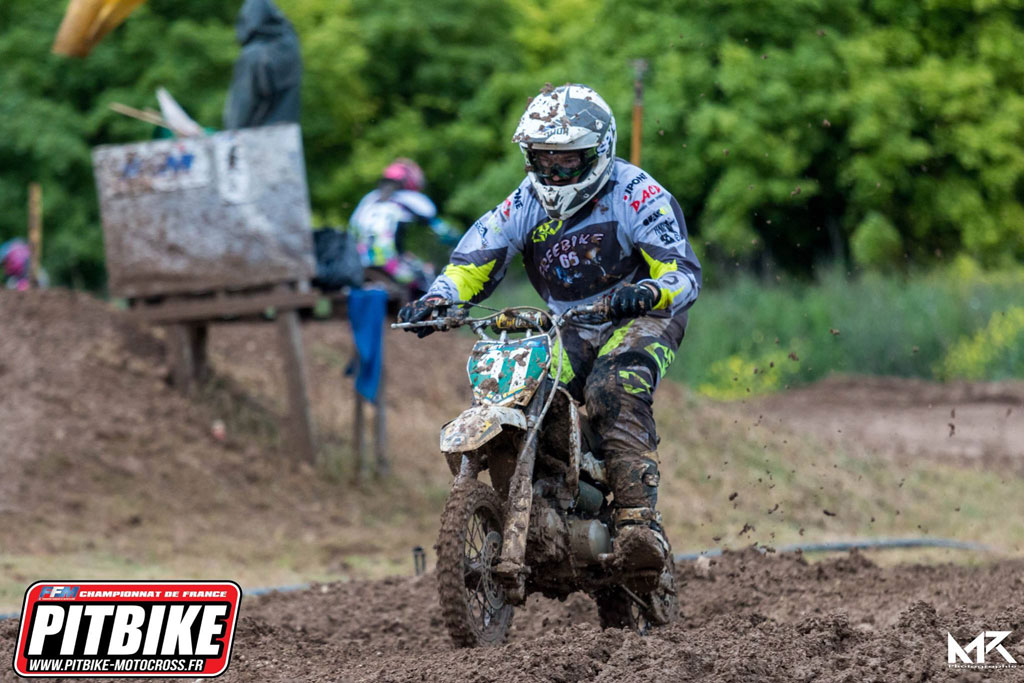 semi auto championnat france pit bike 2018 saint jean angely